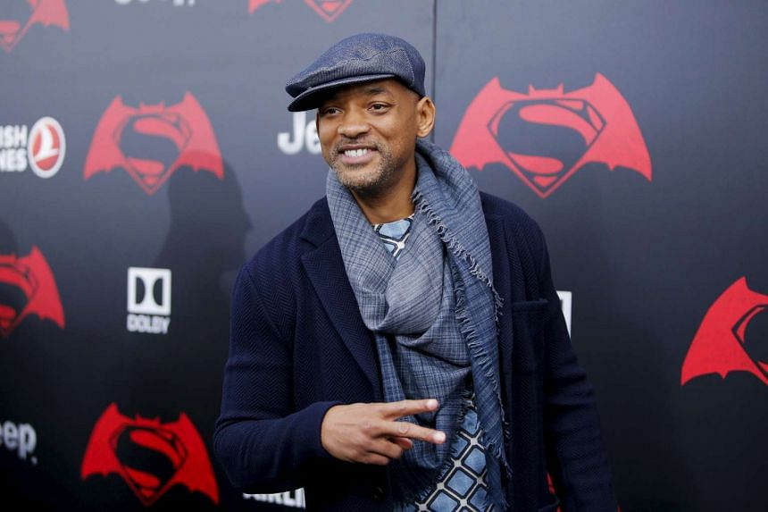 Actor Will Smith attends a movie premiere in New York, March 20.