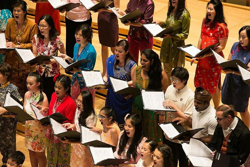 Vocal Associates will perform songs with Chinese, Malay and Indian influences at Carnegie Hall next Tuesday.