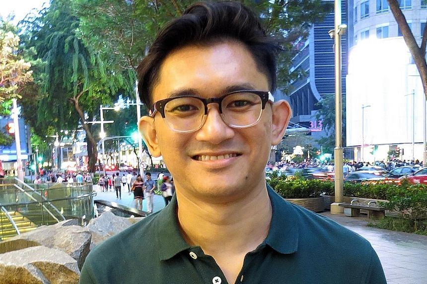Theatre veteran Lok Meng Chue in My Mother Buys Condoms, by Helmi Yusof (above).