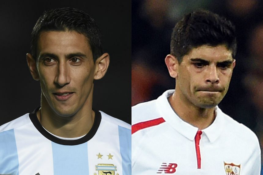 Goals from Angel di Maria (left) and Ever Banega secured a deserved three points for Argentina in the Copa America Centenario campaign.