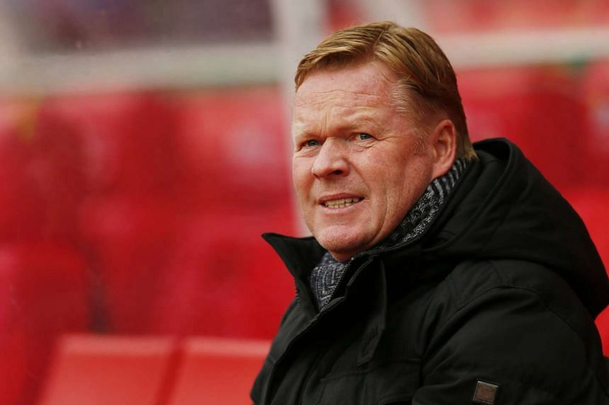 Koeman (above) has been Southampton manager for the last two years.