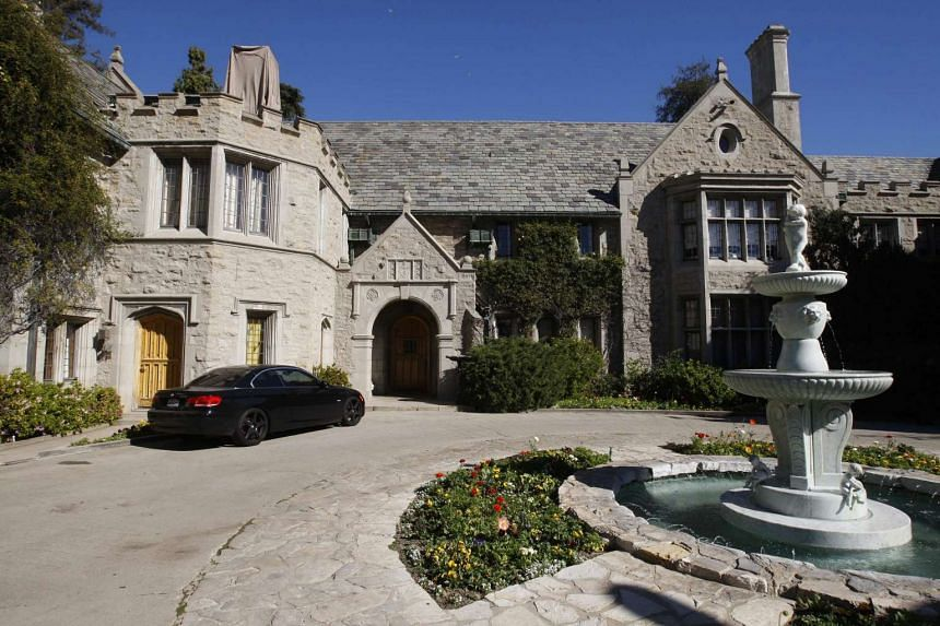 A view of the Playboy Mansion in Los Angeles, US, Feb 10, 2011.