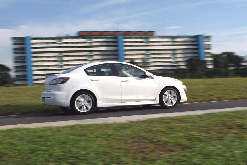 EthozCab is starting with a fleet of 50 Mazda 3 (pictured) and Toyota Altis sedans.