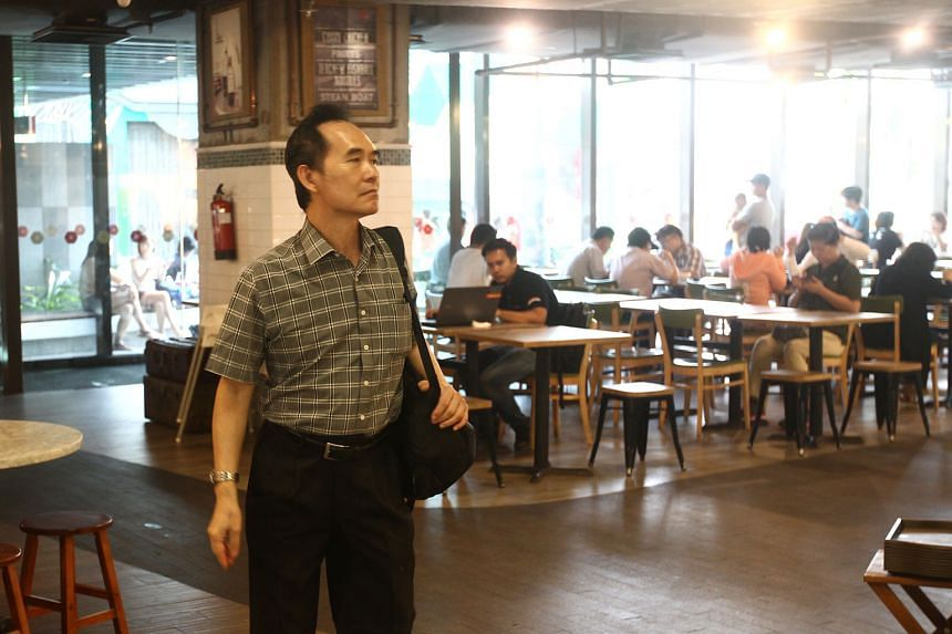 Cleaner Png Lye Heng says he has been working at the Jem foodcourt for a year and does not find the work difficult. He intends to continue to work in this line despite the recent incident when he got yelled at.