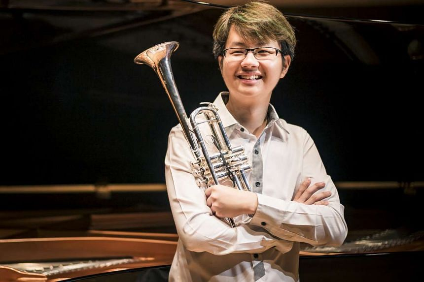 Trumpeter Lau Wen Rong will perform with musician friends Abigail Sin and Loh Jun Hong at the concert.