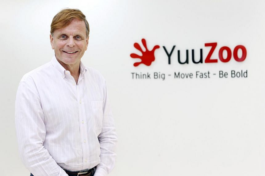Co-founder and executive chairman of YuuZoo Mr Thomas Ziliacus.