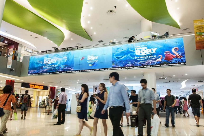 Advertisers will be able to reach scores of shoppers through new digital advertising screens in VivoCity.
