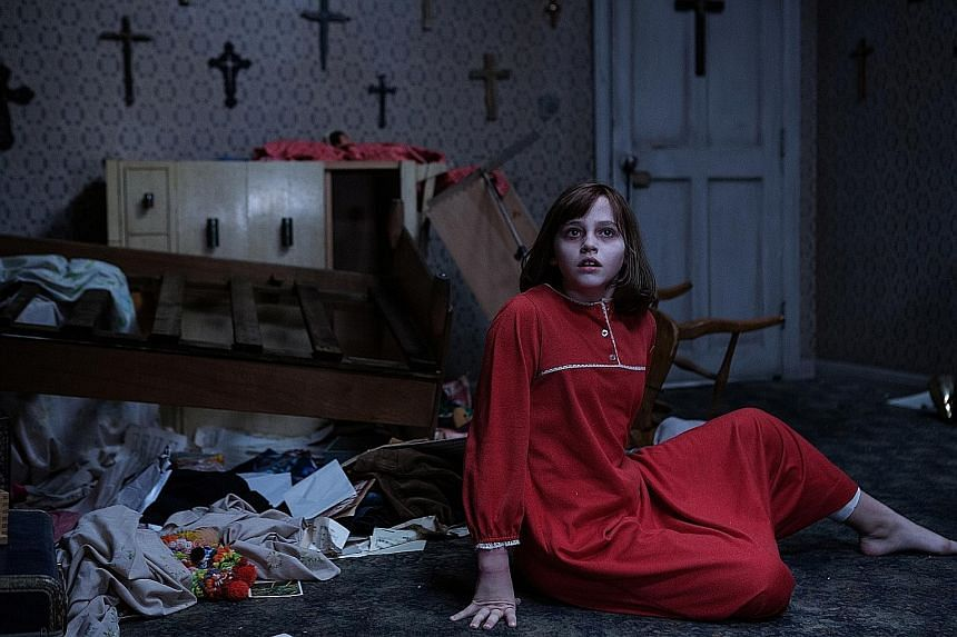 The Conjuring 2, starring Madison Wolfe, investigates the supernatural happenings in a house in London in 1977.