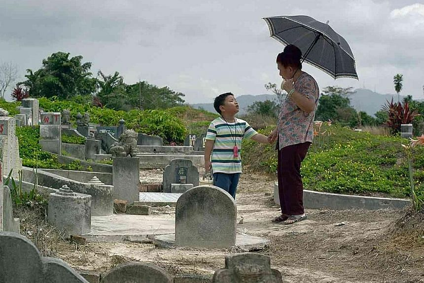 Director Kelvin Tong's Grandma Positioning System (GPS) is one of the films in 7 Letters.