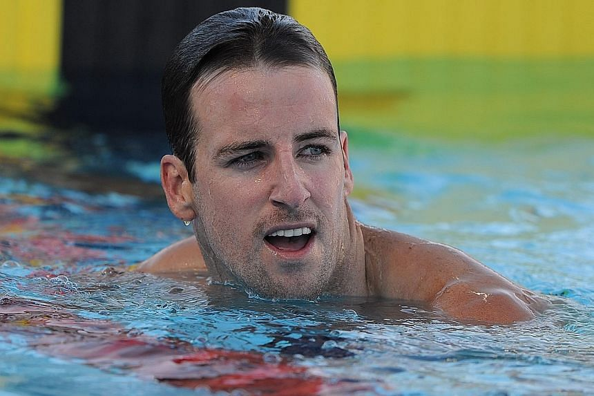James Magnussen did not make the Australian Olympic squad initially, having failed to qualify for the individual events during the trials.