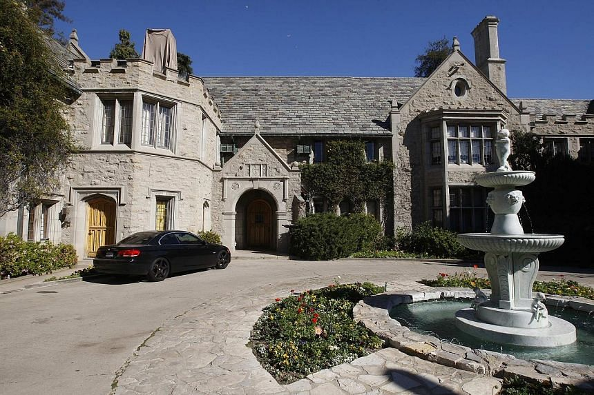 The Playboy mansion was listed earlier this year for US$200 million (S$271 million).