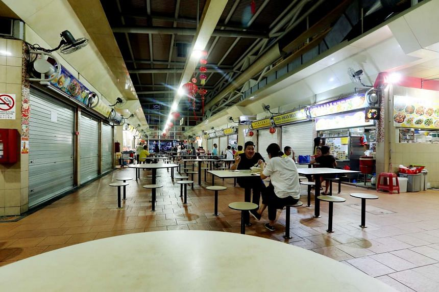 The Pek Kio Market and Food Centre was closed for two days for thorough cleaning and disinfection.