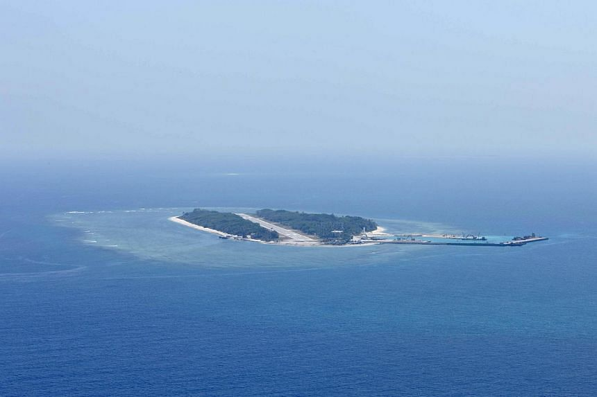 Itu Aba island in the Spratlys.