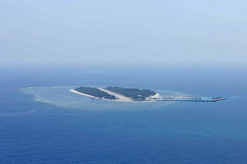 Itu Aba island in the Spratlys.