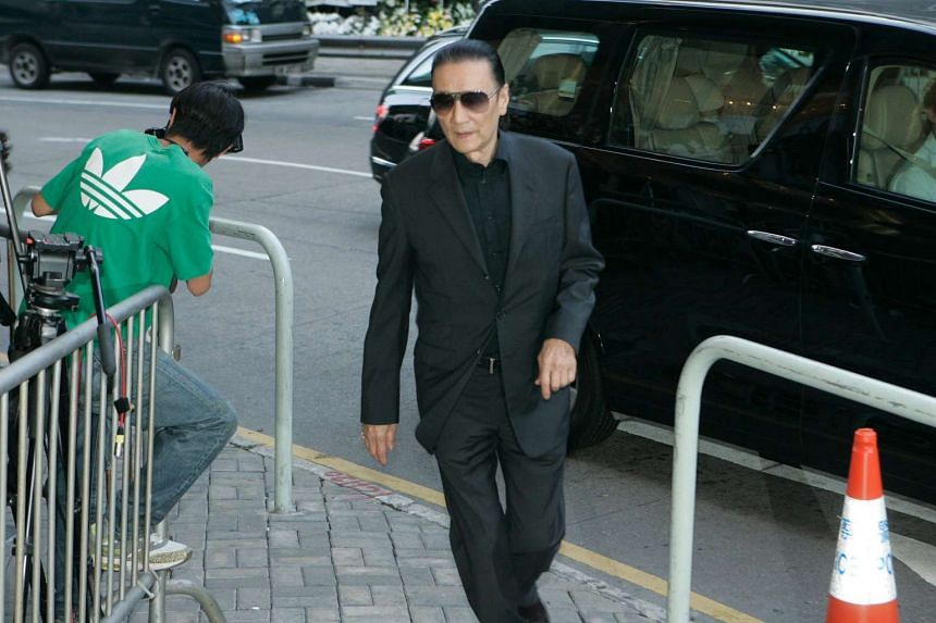 Actor Patrick Tse, seen in this 2011 file photo, fractured a rib in a four-vehicle crash in Shenzhen.