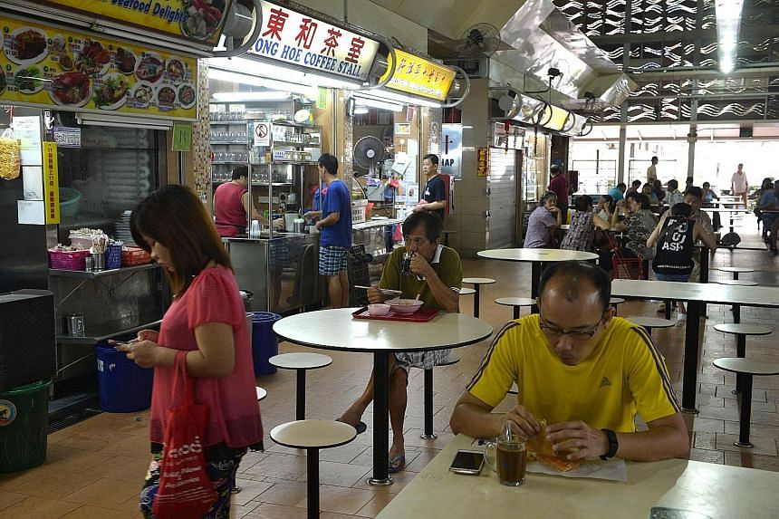 Pek Kio Market and Food Centre was closed for thorough cleaning after investigations found it had been patronised by many who fell sick with vomiting and diarrhoea.