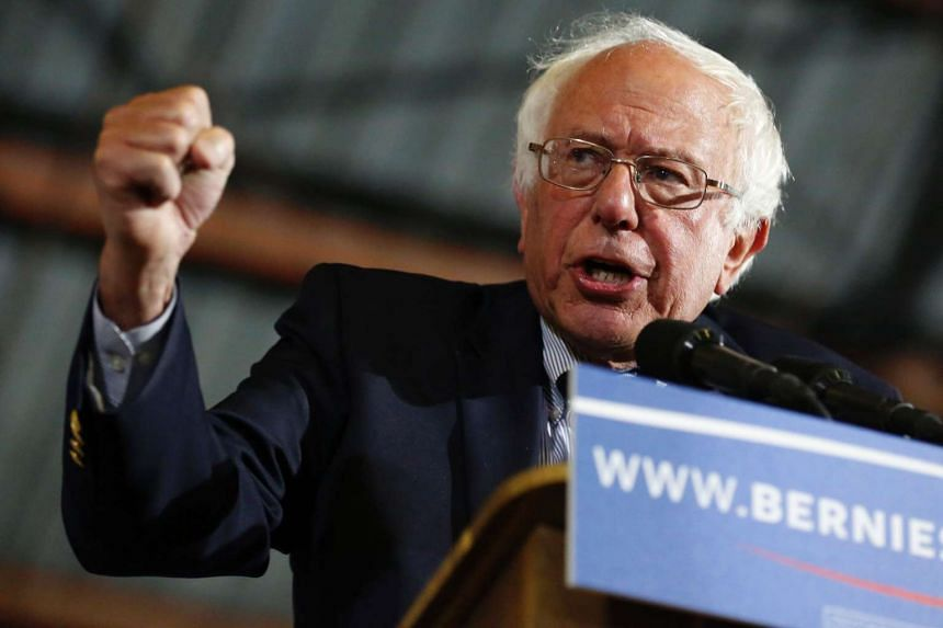Sanders (above) refused to concede defeat to Hillary Clinton late on June 7.