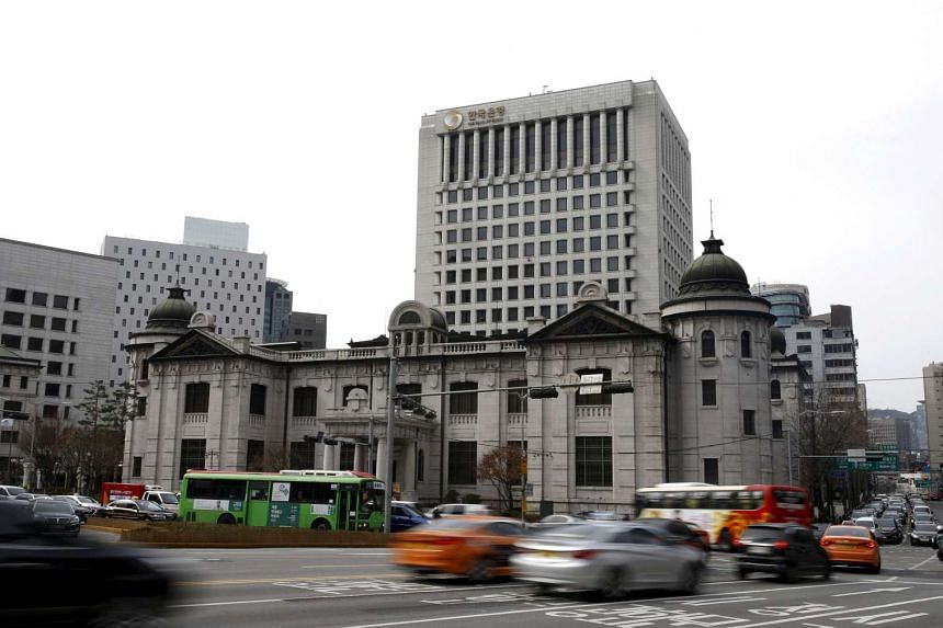 The Bank of Korea lowered its policy rate by 0.25 percentage points, marking the first rate cut in 12 months.