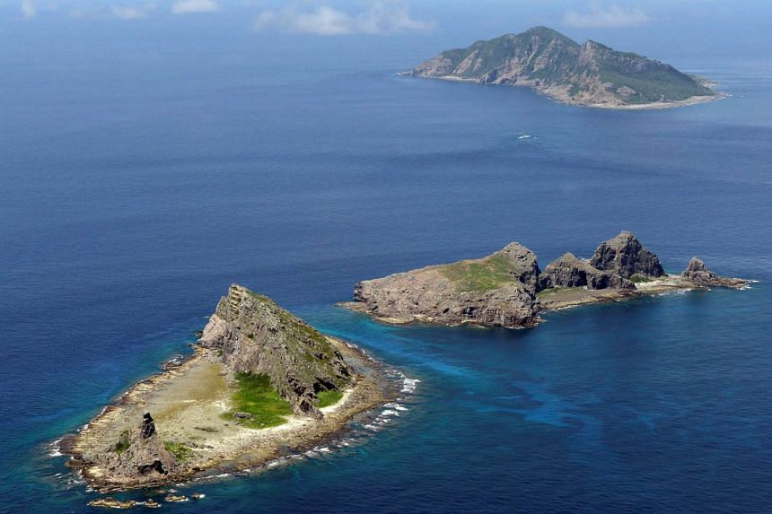 The disputed islands, known as Senkaku in Japan and Diaoyu in China.
