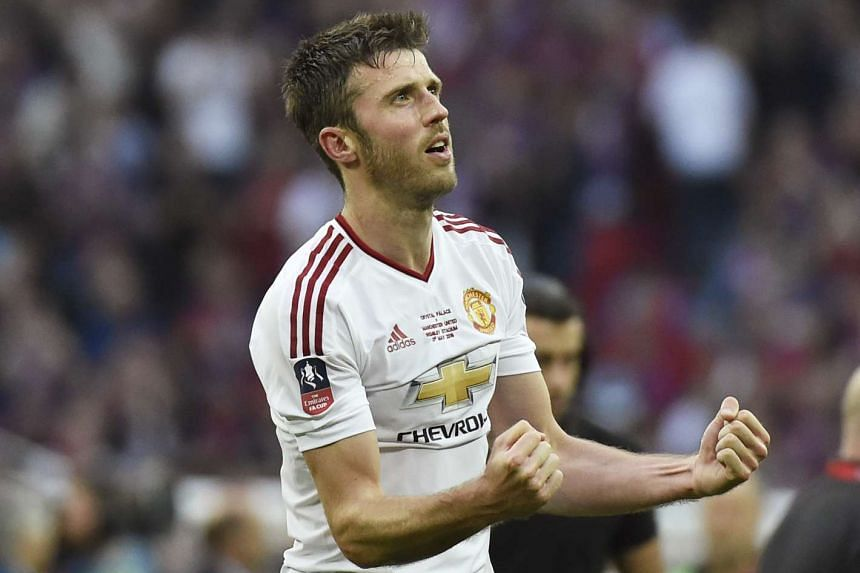 Michael Carrick has signed a new one-year contract with Manchester United, the Premier League club announced on June 9, 2016.