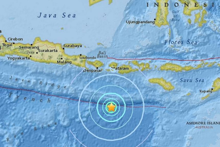 An earthquake of magnitude 6.2 struck off the Indonesian island of Lombok on Thursday (June 9).