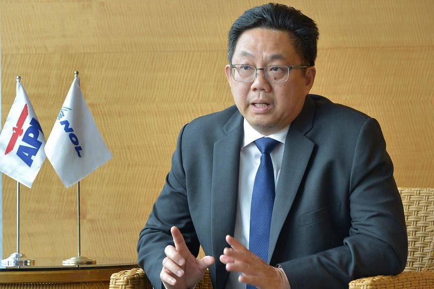 Neptune Orient Lines CEO Ng Yat Chung.
