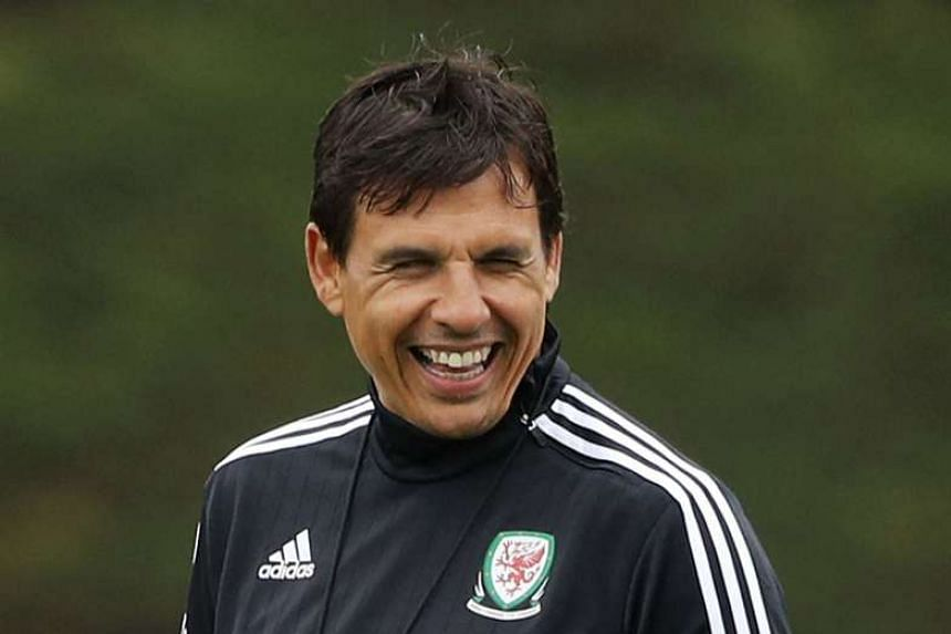 Wales coach Chris Coleman revealed a spoof Euro 2016 team that included Pele, Diego Maradona, Carlos Alberto, George Best, Socrates and Zico.