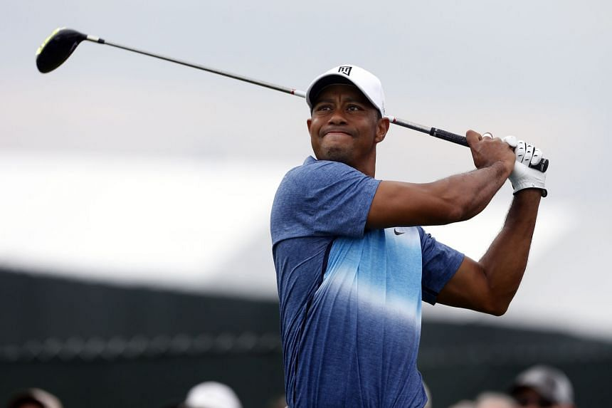 Tiger Woods during last August's PGA Championship at Whistling Straits. The former world No. 1 missed the cut and has not played tournament golf since back surgery a month later.