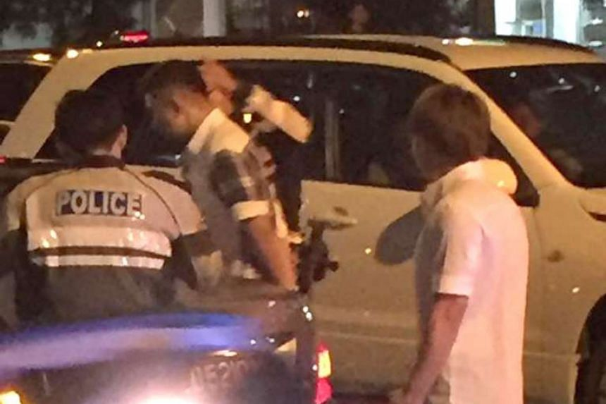 The accident took place at the traffic junction between Jurong West Avenue 1 and Jurong West Street 41 on Tuesday. Ms Siti was on her way to help her boyfriend's family at their Ramly burger stall when she was hit.