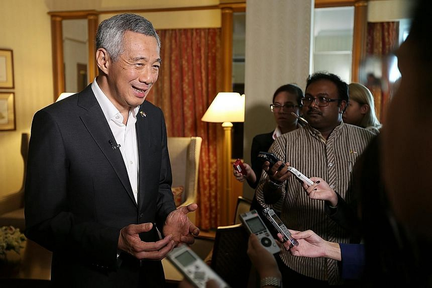 "PM Lee, speaking yesterday at the end of a visit to Myanmar, highlighted how cyber security is a problem that Singapore has been trying to tackle since the days of the floppy disks. He said Internet surfing is ""the easiest way by which somebody can p"