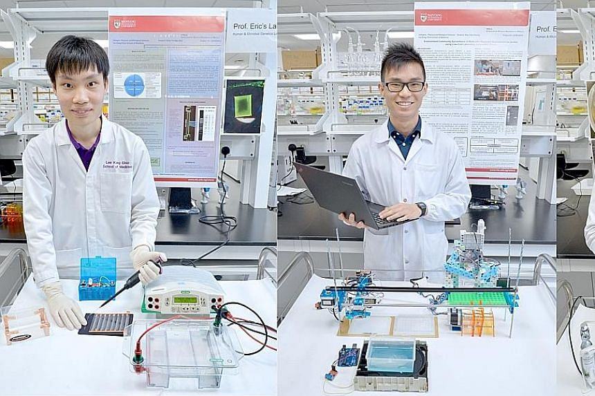By combining a styrofoam box, heater, fan and scanner, medical student Aletheia Chia built a device that can grow and image bacteria, for under $400. An incubator sells for $3,000 while a small imaging system can cost over $10,000. Biological science