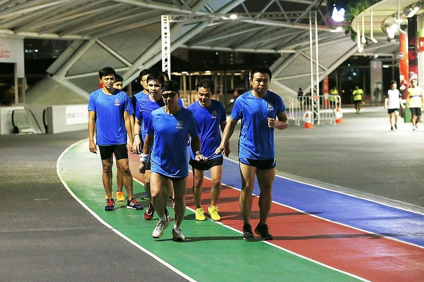 The Singaporean team of Goh Giin Huat, Marc Chiang, Ong Hock Bee and Kelvin Tan will be running at July's Mizuno Ekiden for the first time.