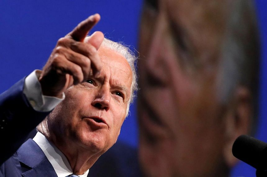 US Vice-President Joe Biden speaks at the American Society of Clinical Oncology Annual Meeting in Chicago, Illinois, US, June 6.