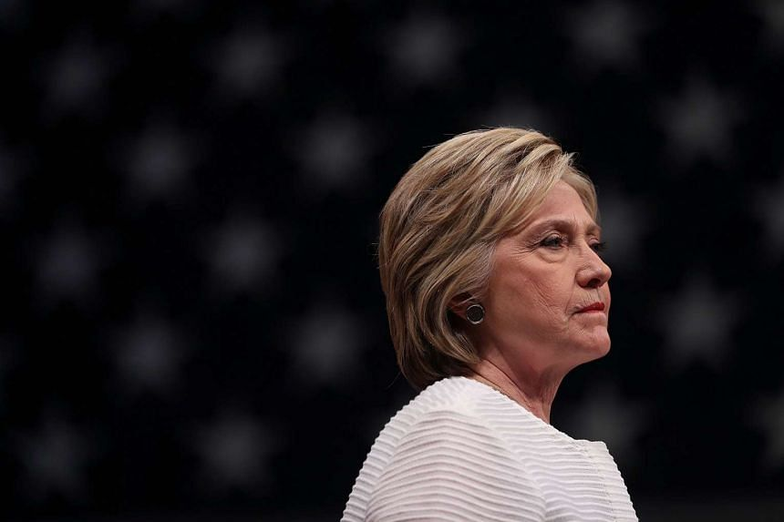 Hillary Clinton speaking during a primary night event on June 7 in Brooklyn, New York.