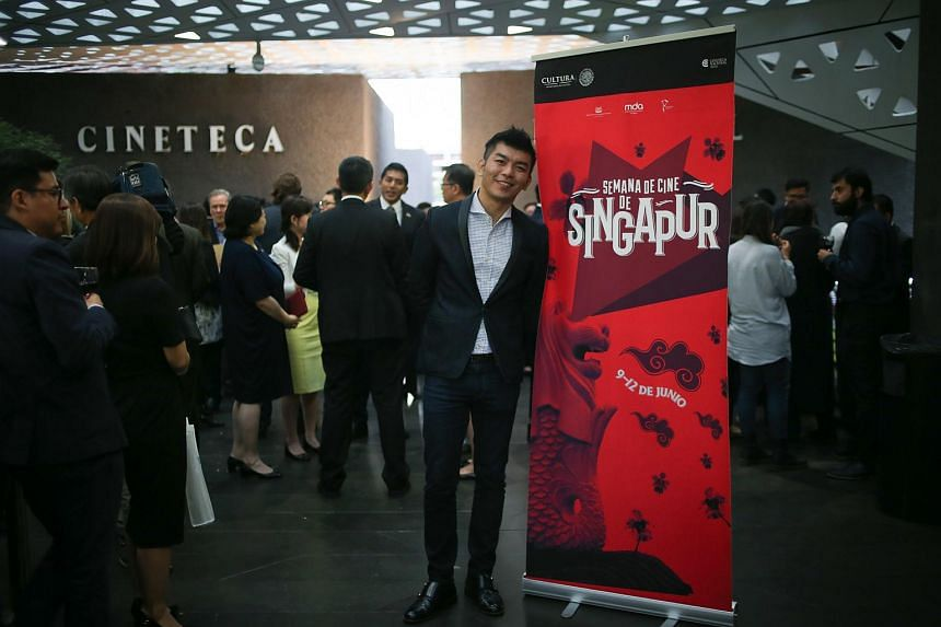 Mr Royston Tan at Singapore Film Festival in Mexico on June 9.