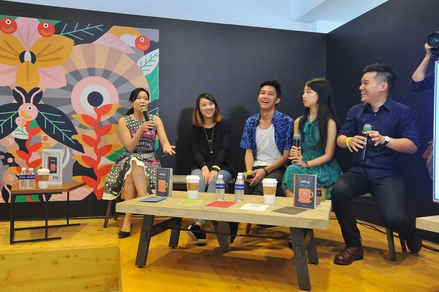 The Cafe Sg book was launched on the second day of the Singapore Coffee Festival, on June 10, 2016.