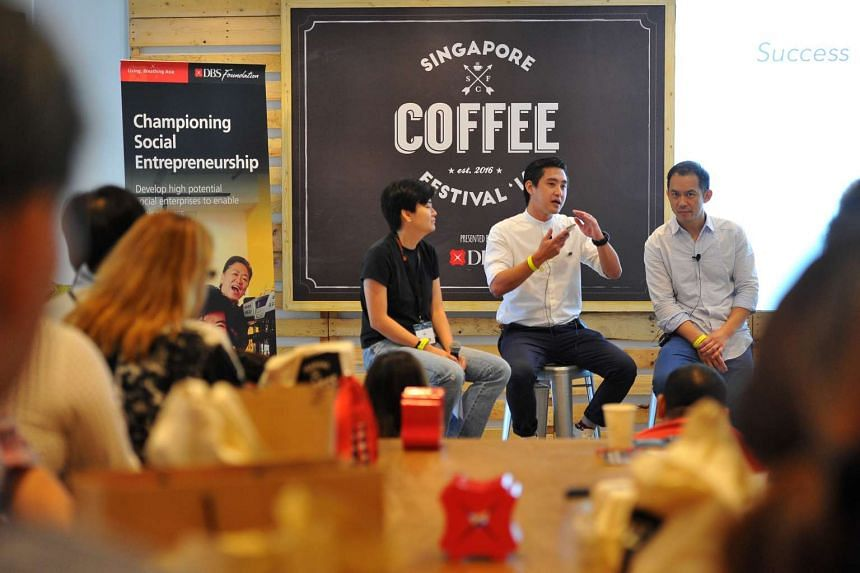 Success in Specialty Coffee at The #LiveBettr Lab on the second day of the Singapore Coffee Festival, on June 10, 2016.