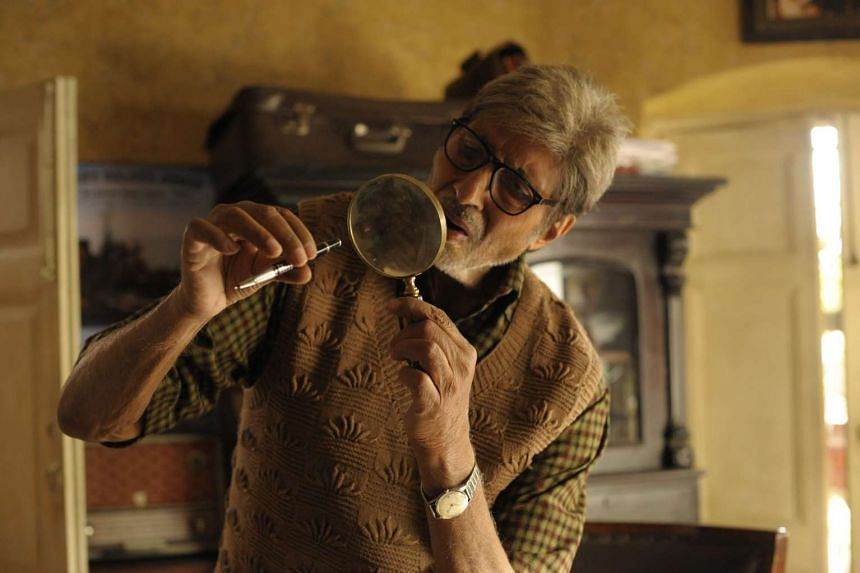 Amitabh Bachchan plays John Biswas, who is investigating the kidnapping and death of his granddaughter.