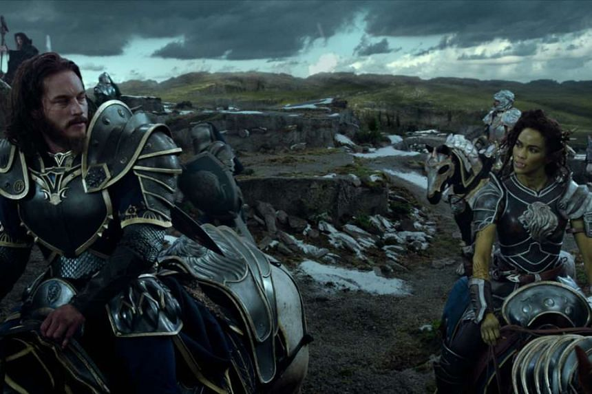 The movie brings to mind The Lord Of The Rings trilogy, with orcs as characters.