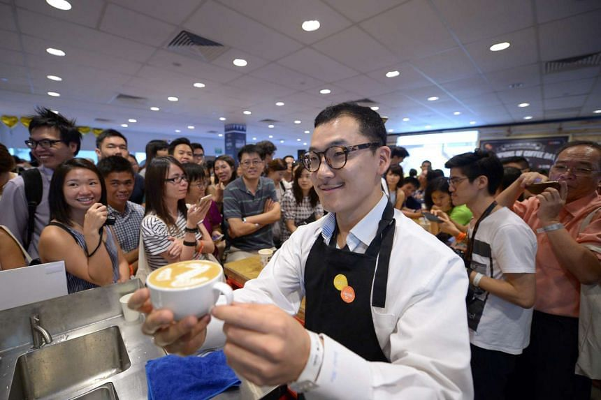 The overwhelming response at the Singapore Coffee Festival on June 11, 2016.