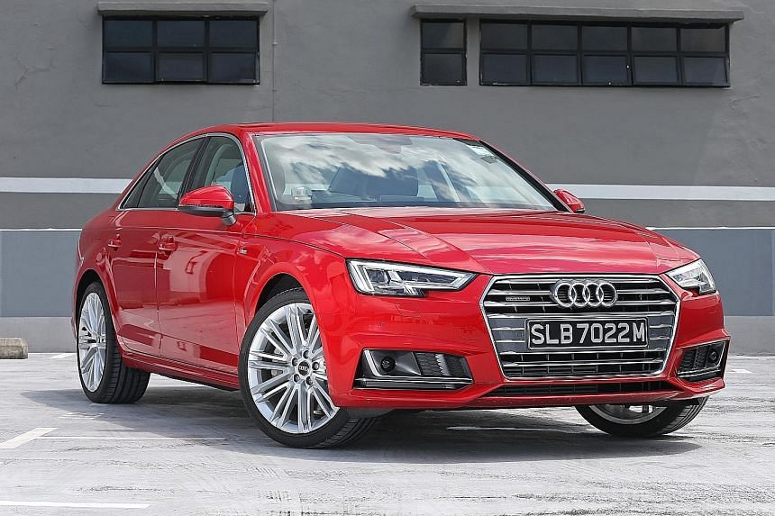 Navigating the Audi A4 2.0 on both straight and winding roads is an absolute breeze.