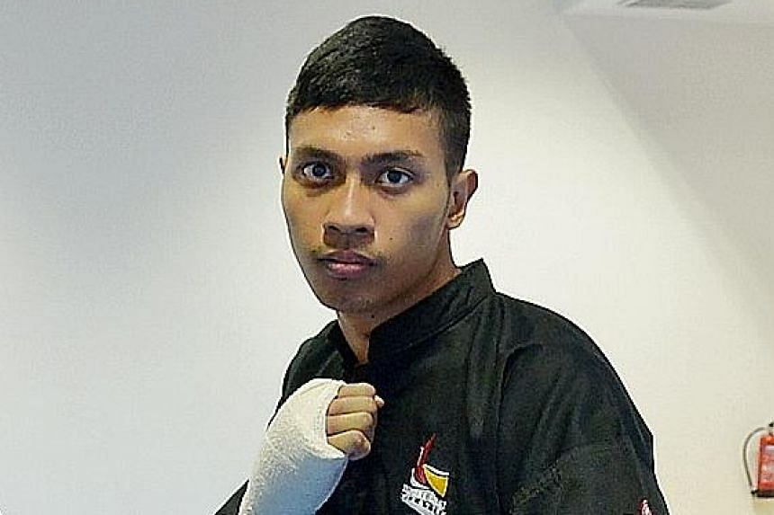 Alfian Juma'en and Nurul Suhaila both clinched gold at the 2nd Asian Pencak Silat Championships. Singapore won eight golds in total.