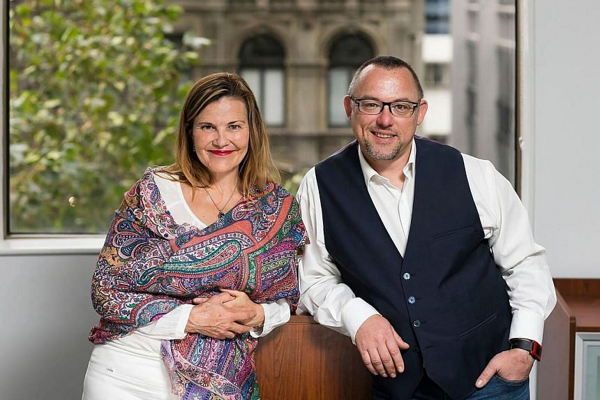 ParentPaperwork chief executive Fiona Boyd, who founded the company with chief technology officer David Eedle, says Singapore would be a good base for the Australian company.