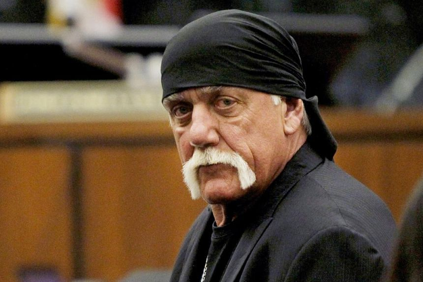Pro wrestler Hulk Hogan in court during his trial against Gawker Media, in Florida, on March 17.