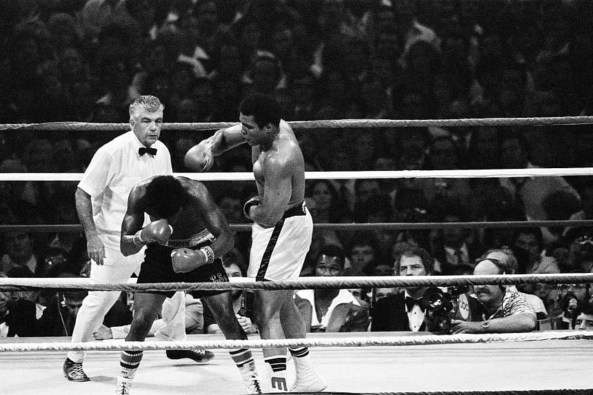 September 1978 Ali drops an overhand right on Leon Spinks during their second match at the Louisiana Superdome inNew Orleans. The fight went badly for Spinks. Ali rarely lost control, winning back his title by a unanimous 15-round decision, becoming