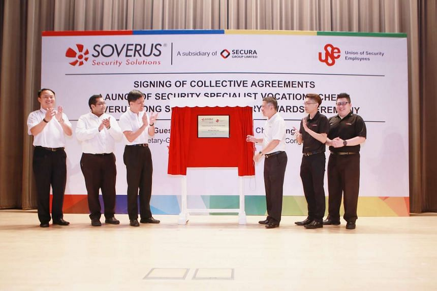 The memorandum of understanding between Soverus and the Union of Security Employees (USE) was signed on June 13, 2016.