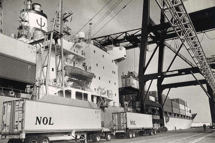 NOL containers used during the 1970s.
