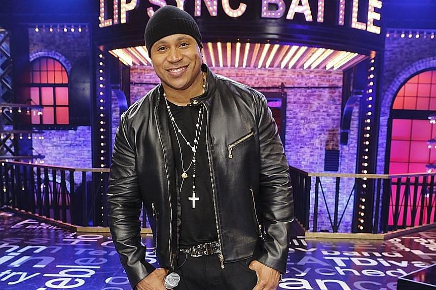 A dream match-up for Lip Sync Battle host LL Cool J (left) is one between United States President Barack Obama and his wife, Michelle.