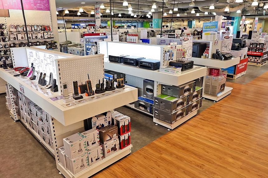 Courts' CEO Terry O'Connor says local retail conditions are tough due to labour issues, high rental costs and credit-cooling moves. Property-cooling measures have also hit consumer demand for furniture and electronics linked to house moving.