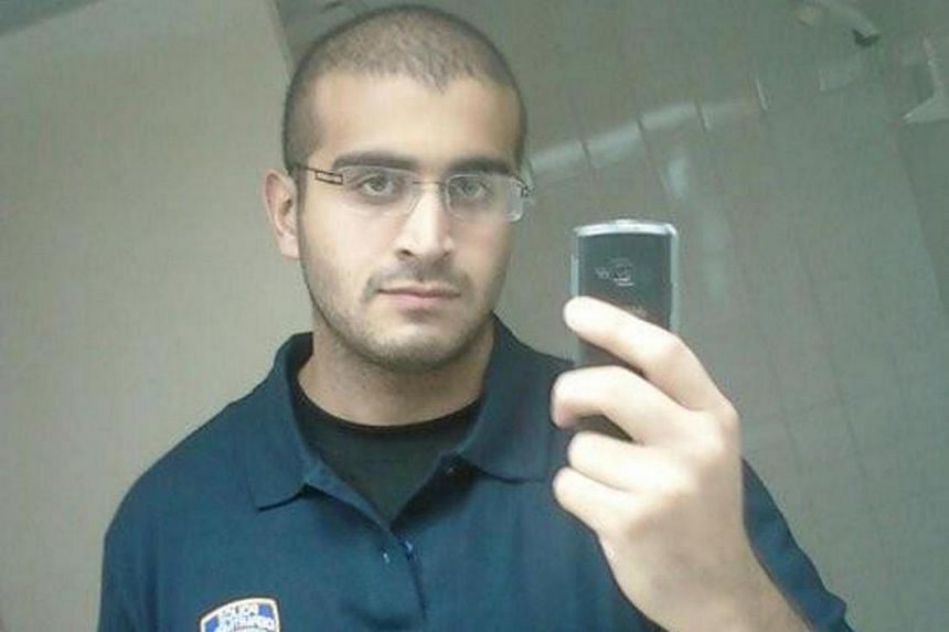 An undated photograph from a social media account of Omar Mateen, who Orlando Police have identified as the suspect in the mass shooting at a gay nighclub in Orlando, Florida.